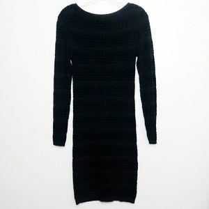 Alice + Olivia Knit Sweater Dress Wool Cashmere S